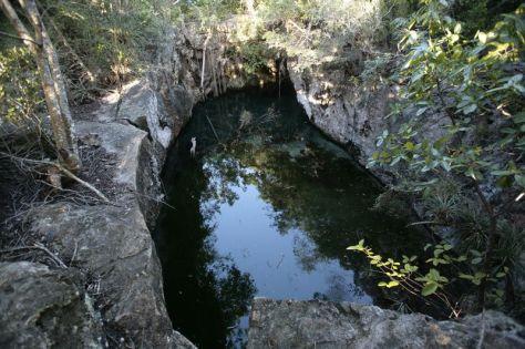 Cenote del Puente de los enamorados