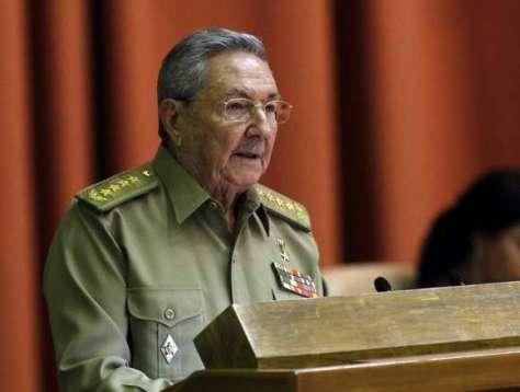 Raúl Castro en la Asamblea Nacional