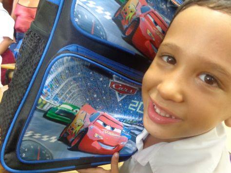 Alejandro y su mochila