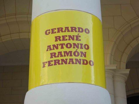 Cinta en Museo de la Revolución
