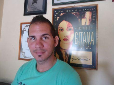 Nelson Jaime Santana. Investigador del Centro Juan Marinello