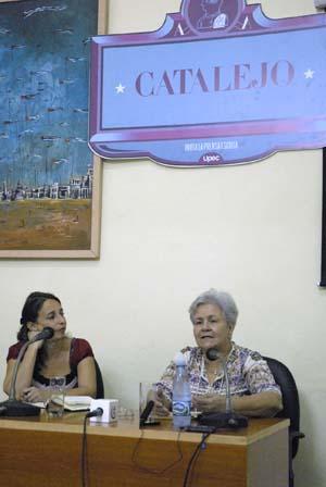 Bejerano participa en el espacio Catalejo, de la UPEC