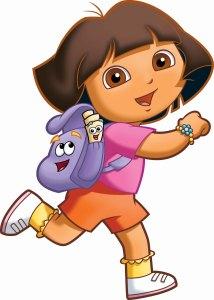 Dora la exploradora es una de los dibujos animados que algunos padres consideran instructivos