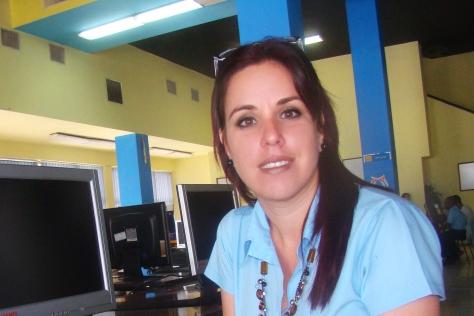 Kirenia Fagundo, líder del proyecto Cubava
